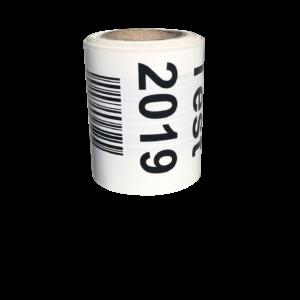 étiquettes en bobine imprimées